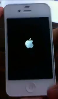 logo iphone branché