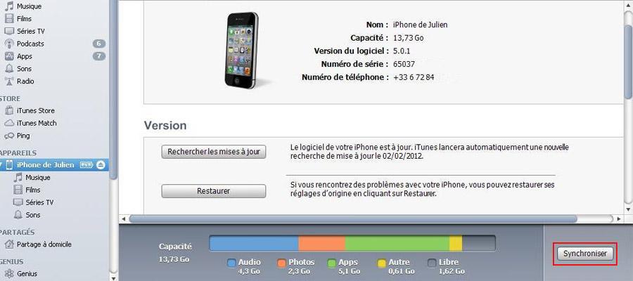 débloquer un iPhone 4S